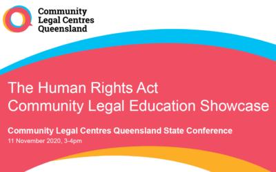 The HRA Community Legal Education Showcase