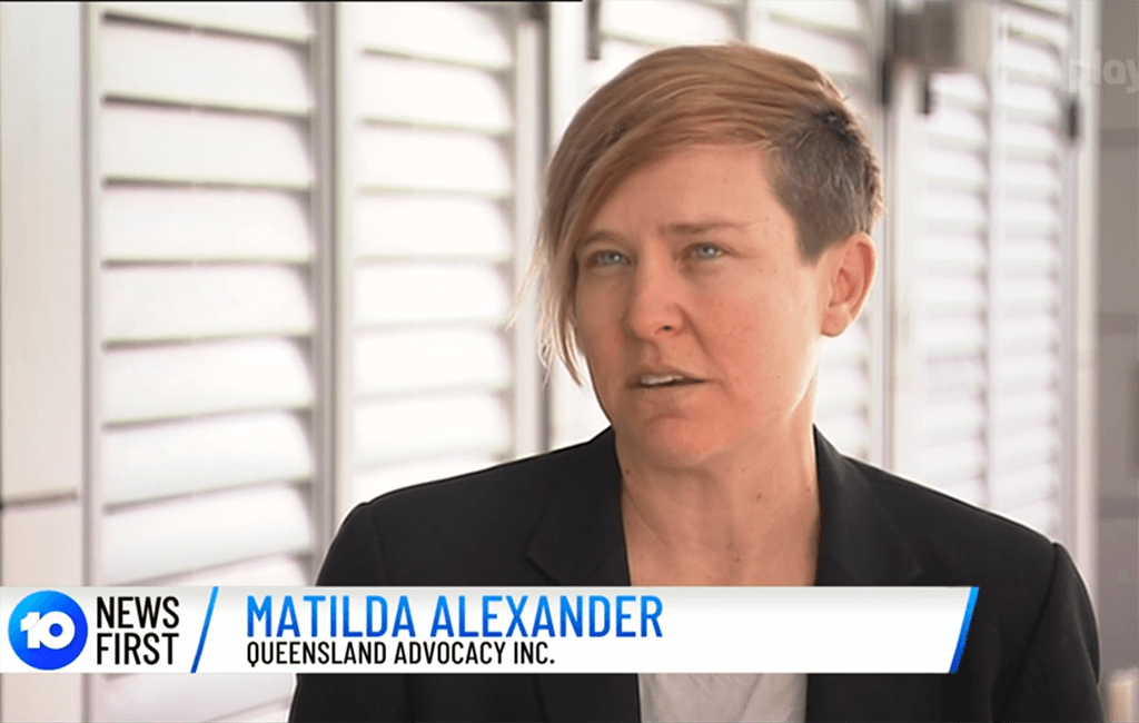 QAI speaks to Channel 10 on Disability Accommodation