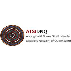 Aboriginal and Torres Strait Islander Disability Network of Queensland Logo